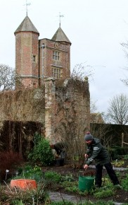 Liz at Sissinghurst