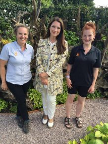 Left to right: Leslie Hurst, Rachel de Thame & Natalie Angus